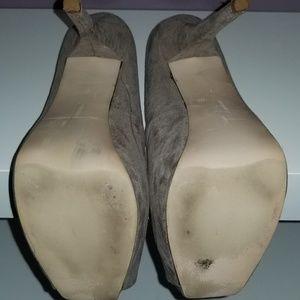 Zara Shoes - ZARA RARE Suede Platform Heels